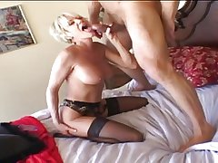 Confessor - Mature Flaxen plays then gets fucked