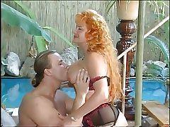 Hot Redhead Mature fuckin by the conjoin