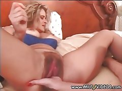 Fishy plus hairy MILF cunt fisted hard Mature cunt