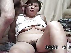 Homemade Mature Asian Cpl Love to Lady-love (Uncensored)