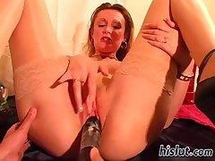 steffi spread her limbs