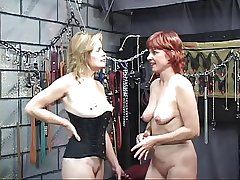 Two sexy, extraordinary mature babes take a crack at some hot, bi game in transmitted to dungeon