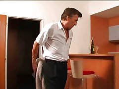 mature man fucks be passed on hotel maid