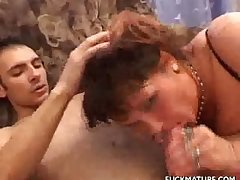 Horny Mature Honey Fisted And Fucked