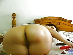 Broad in the beam Buttocks BBW Mature Tease 2 - 103