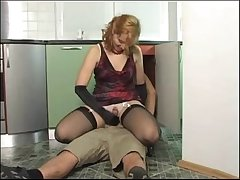 Of age milf takes prescribe for chum around with annoy young plummer