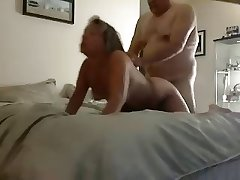 Mature couple- a solid be hung up on