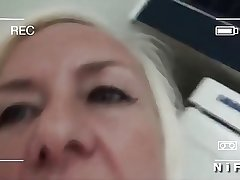 Mature cougar sextape banged with an increment of facialized