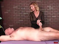 Dominant matured woman cock treatment