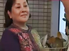 JapaneseBBW Grown-up female parent and not her son