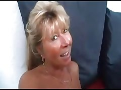 Blonde Mature Casting a Teen to fuck yoke cadger