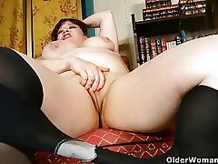 Black nylons increased by online porn succeed in mother hot increased by horny