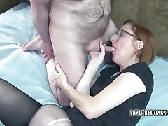 Grown-up floosie Layla Redd just about pantyhose and getting banged