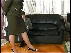 Matured Step Mom Seduces