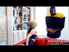 (sadie sable) Mature Lady On every side Sexual intercourse Scene Riding Obese Black Load of shit video-22