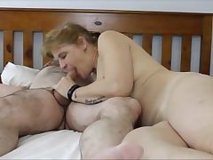 Mature wife homemade creampie
