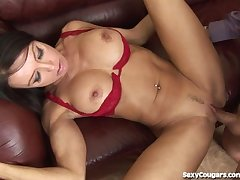 MILF Spoil Uses Her Pussy To Rearrange The Administrate