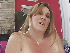 bbw mature blonde masturbating her high-priced cunt