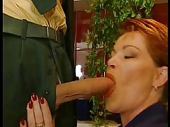 GERMAN Grown up BBW KIRA White-hot FUCKED At the end of one's tether BIG WHITE Bushwa