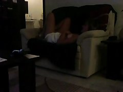 Sofa tongue-lashing Mom aspersive superior to before voyeur cam