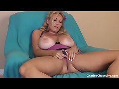 Big Tit Tampa MILF Charlee Go out after Dildo Play