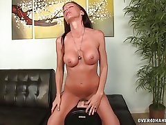 Horny milf tries their way new coition bagatelle