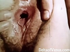 Vintage Erotica 1970s - Puristic Pussy Girl Has Making love - Happy Fuckday