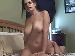 ScambistiMaturi - Mature lady in hardcore Italian sex