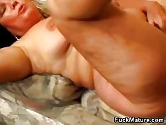 Mature Honey Fucked and Jizzed Vulnerable