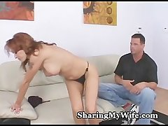 Wife's Fire Crotch Drilled Hard by Stud