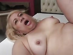 Granny Victoria Santos Fucked regarding the Ass by Young Varlet
