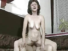 Hairy Granny Suck coupled with Fuck