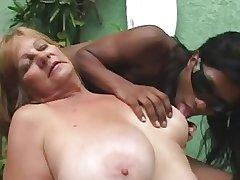 Ebony Tranny anb Blonde Granny - Accouterment 1