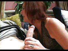 Queasy Pussed Granny Anatasia Fucks Young Lad