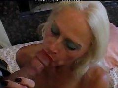 Blonde Aged Mature  Tart In Fishnets Fucks of age mature porn granny grey cumshots cumshot