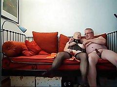 Amateur German granny have sex