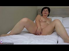 OldNanny Elderly nancy matured masturbate her pussy more sextoy