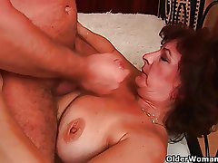 Step by step sexed granny needs a facial