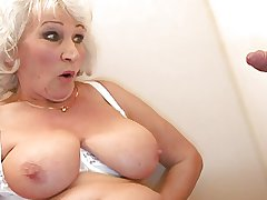Old BBW-Granny takes Weasel words beyond Little girls' room 2