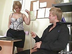 Office lady fucks her wage-earner