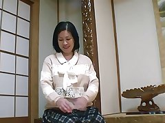 52yr age-old Granny Toyomi Furui gets Creamed (Uncensored)