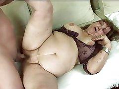 chubby Granny gets fucked