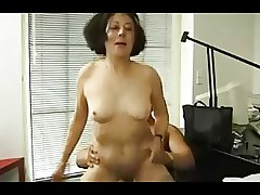 German granny gets their way tits glassy