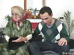 Comeuppance granny pleases a totally stranger