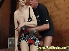 Cock hot to trot sex-crazed granny