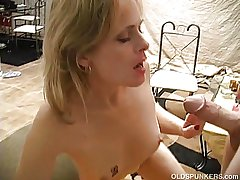 Very X adult babe loves a sticky facial cumshot