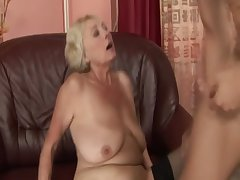 Blonde GILF unpaid drools all let go cock