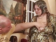 Obese granny gets fucked