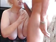 Granny Seduces Chum