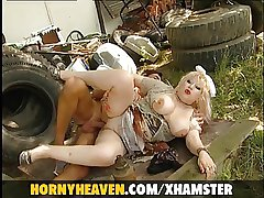 Granny Hither Chubby Milk Bowels Fixed Fucked